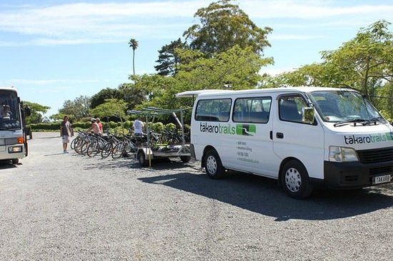 Takaro Trails Cycle Tours - Day Tours: Bikes Arrive