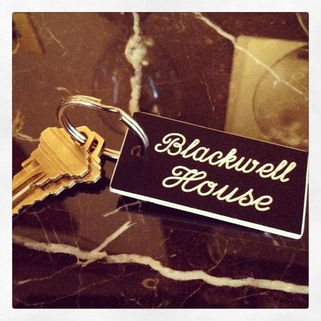 Blackwell Hotel : Key to your next stay!