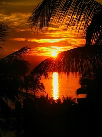 Velas Vallarta: Sunset from the balcony
