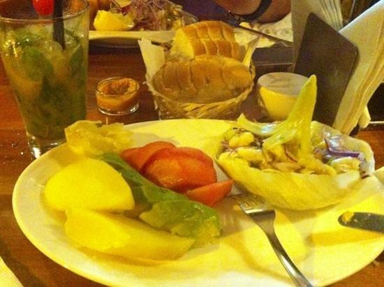 Dona Filomena: ceviche de pescado con maracuya