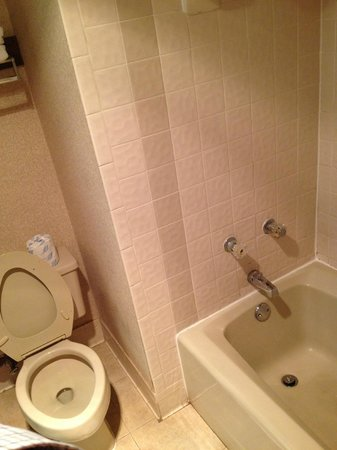 Travelodge - Oklahoma City North: Poorly maintained bathroom