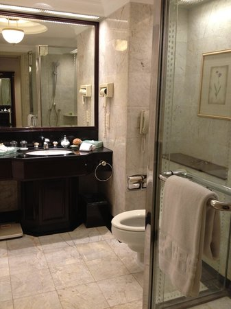 Evergreen Laurel Hotel: the bathroom