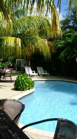 Quint's Travelers Inn: piscina