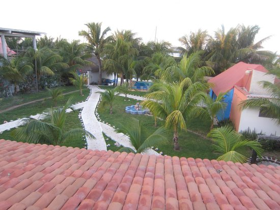 El Milagro Beach Hotel and Marina: View from the deck