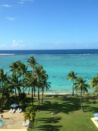 Fiesta Resort Guam: View from 7th floor at the elevator lobby