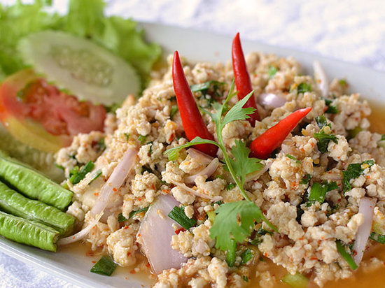 Bamboo Cafe : Spicy Minced Chicken