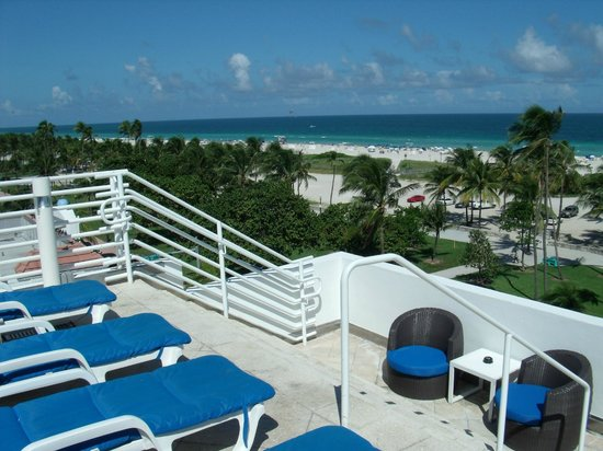 Beach View From Rooftop Deck Picture Of Suites At Congress
