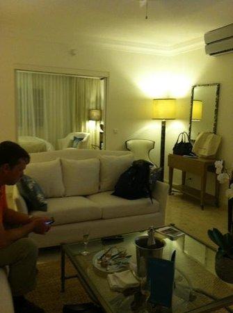 Belmond La Samanna: living room