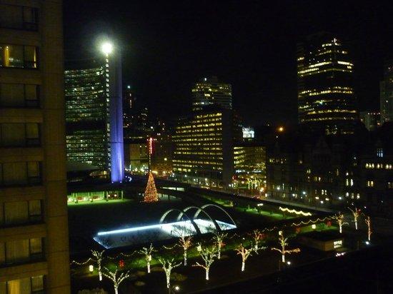 Sheraton Centre Toronto Hotel: 10階の部屋から