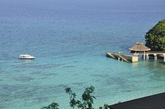 Shangri-La's Boracay Resort & Spa : VIew from our Villa