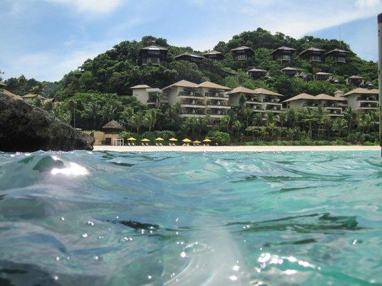 Shangri-La's Boracay Resort & Spa: Shangri La Boracay from afar