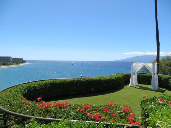 Sheraton Maui Resort & Spa: Ceremony Site overlooking Kaanapali
