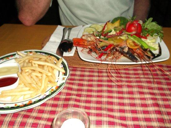 Restaurant Gede Fish & Langustinos Asia: Langustinos