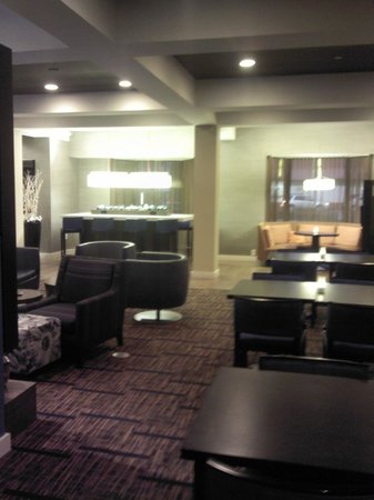 Courtyard Newark Granville: Lobby Interior