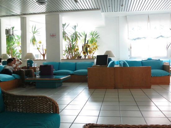 Hotel Bellevue : Ресепшен