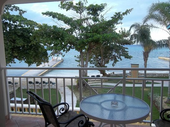 Sandals Montego Bay: Our balcony room