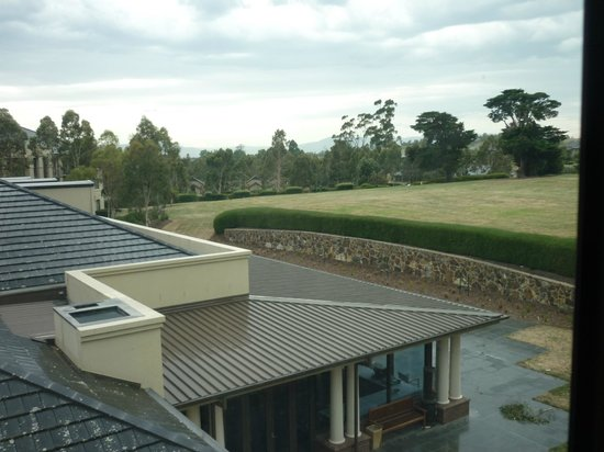 Yarra Valley Lodge: Garden view room - not much of a view