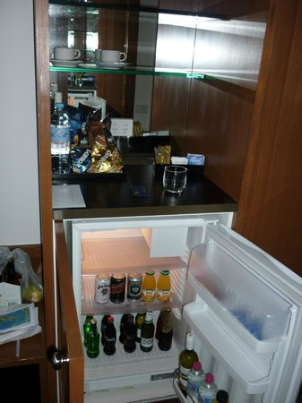 Yarra Valley Lodge: Minibar etc.