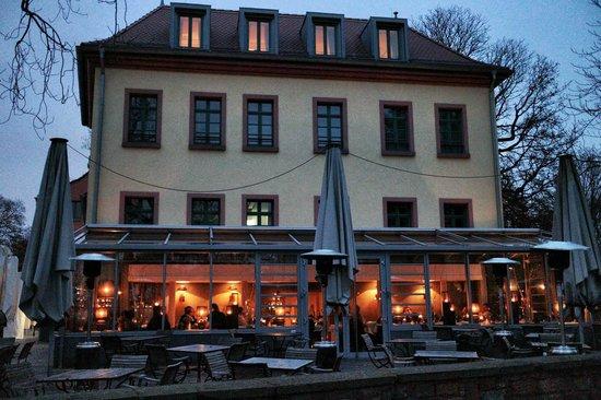 Wintergarten Gerbermuhle Am Main Frankfurt Bild Von