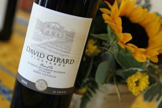 David Girard Vineyard: DGV wine