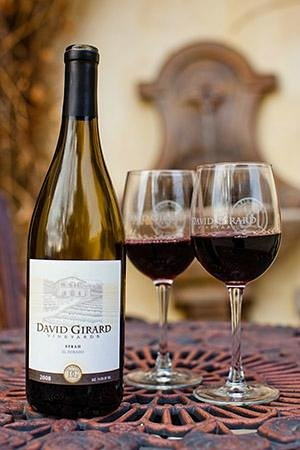 David Girard Vineyard: Enjoy DGV Wine