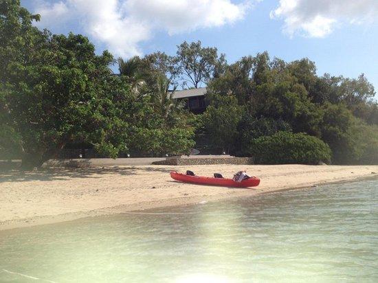 Qualia Resort: プライベートビーチ