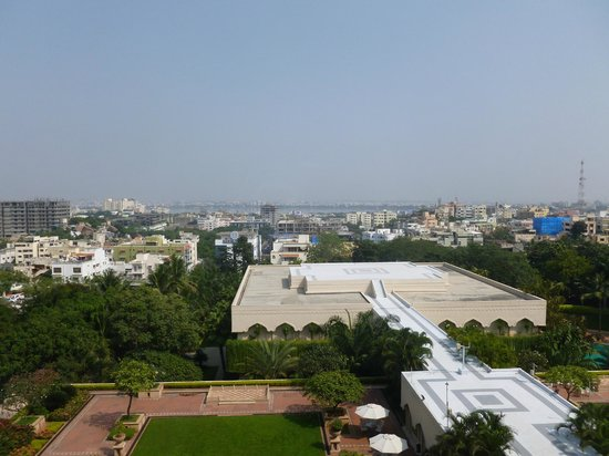 Taj Krishna Hyderabad: View from our room