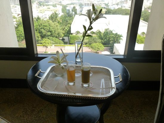 Taj Krishna Hyderabad: Welcome drink