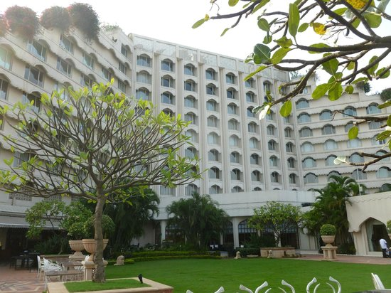 Taj Krishna Hyderabad: Back side of hotel