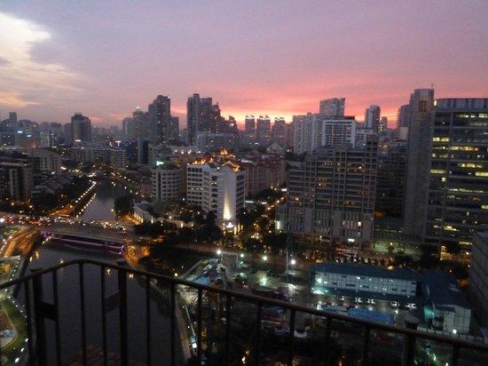 Novotel Singapore Clarke Quay : view from room