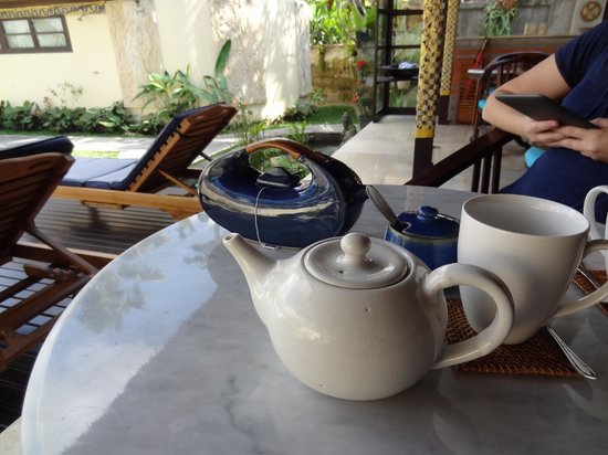 Lodtunduh Sari: Lovely tea and coffee facilities