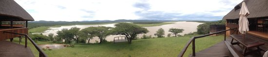 Nkwazi Lake Lodge: View from deck