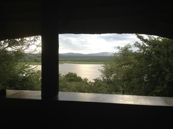 ‪‪Nkwazi Lake Lodge‬: View from room‬