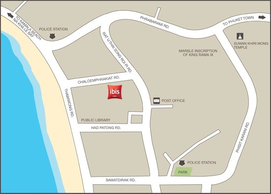 Karta Thailand Patong.Ibis Phuket Patong Thailand Omdomen Och Prisjamforelse Tripadvisor