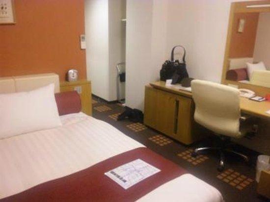 Tachikawa Washington Hotel: ダブルの部屋