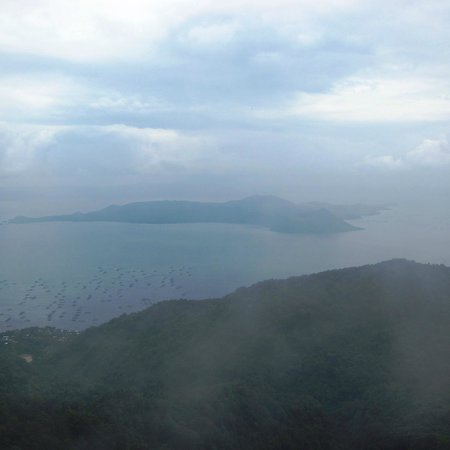 The Lake Hotel Tagaytay: View from garden of hotel