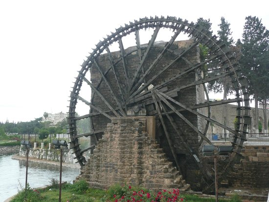 Hamah, Syrie : Water Wheel