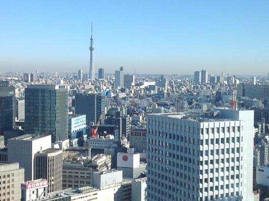 Shangri-La Hotel, Tokyo: view from your hotel room