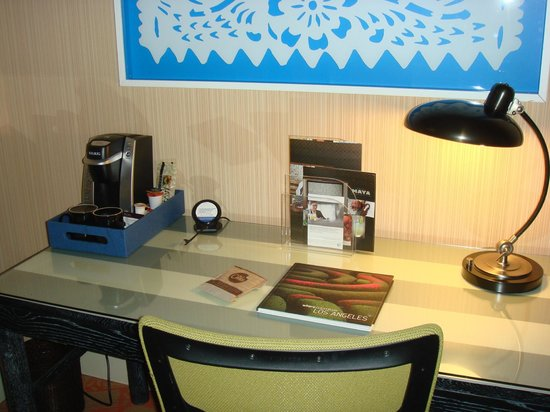 Hotel Maya - a DoubleTree by Hilton Hotel: Desk area, Free wi-fi, Stocked coffee maker