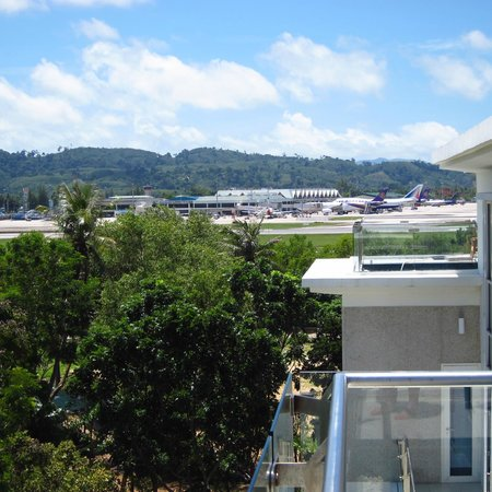Centara Grand West Sands Resort & Villas Phuket: View over airport