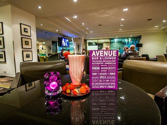Avenue bar lounge menu milkshake picture of avenue bar