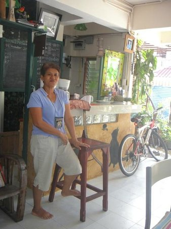 Sabina Guesthouse: Madame Douni la propriétaire