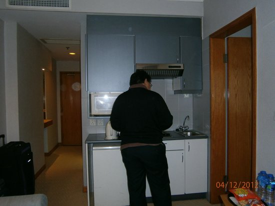 Kimberley Hotel: the helpful kitchen for those who need to cook...