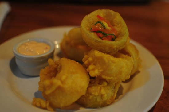 Lone Star Cafe & Bar - Queenstown : Onion rings