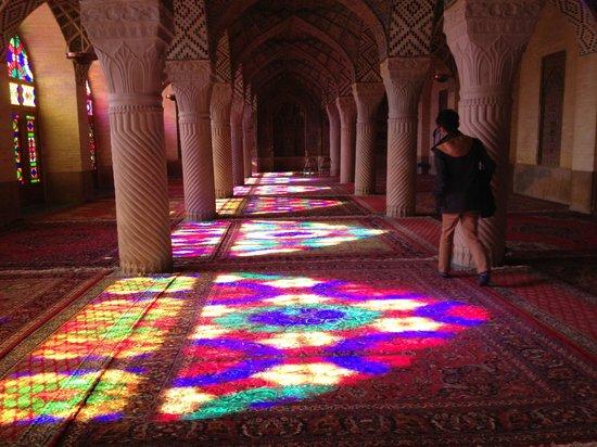 Ιράν: Nasir Ol Molk Mosque Shiraz
