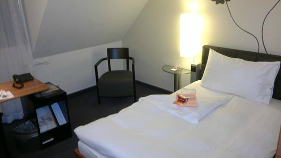 Hotel Basel: Room on the top floor