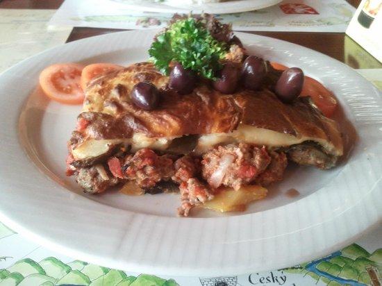 U Vltavy Restaurant: Mousaka