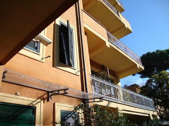Hotel Villa San Pio: Hotel Building