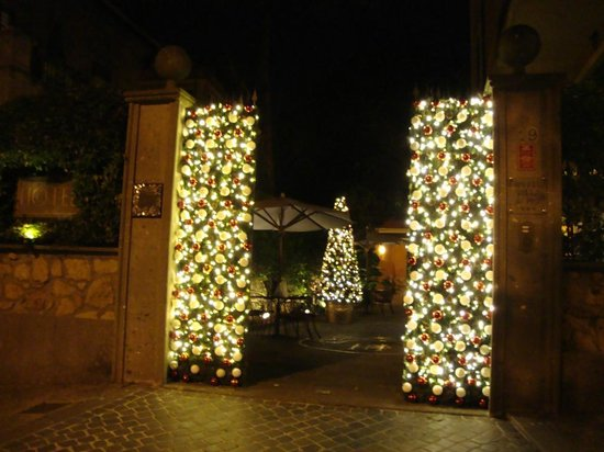 Hotel Villa San Pio: Ready for Christmas