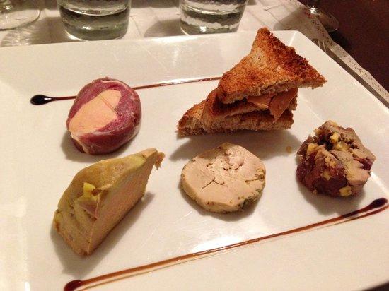 la casa Dalie: Entrée foie gras
